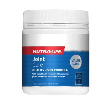 紐西蘭 Nutralife Joint care 200s 紐樂關節片 200粒