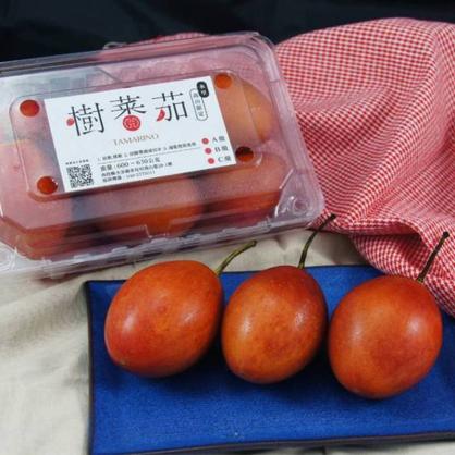 【春霖山園】盒裝樹蕃茄(黃金) 600~630公克 六盒