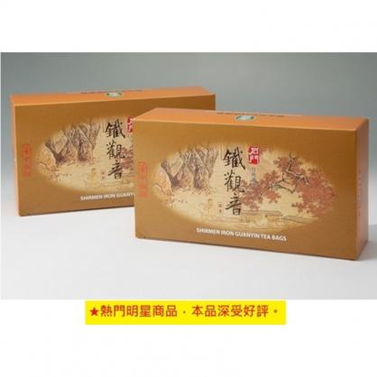 【石門農會】鐵觀音袋茶(100入/盒)10盒/組