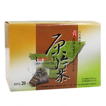 【石門農會】鐵觀音原片茶 10盒(20包/盒)