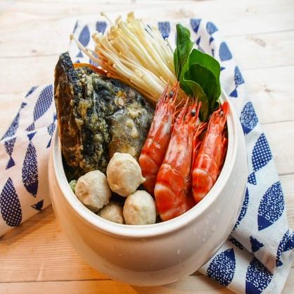 頂級龍虎斑砂鍋魚頭 -(1200cc高湯/400g魚頭)特價599元