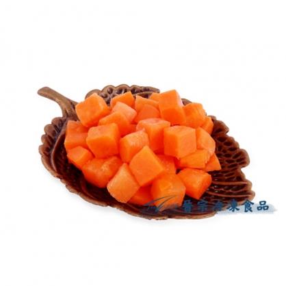 冷凍紅蘿蔔丁(1Kgx15包/件)
