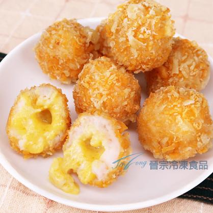 [買5送1套組]黃金熔岩蝦球(10顆/250g/盒)