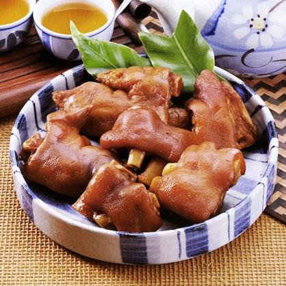 帶骨蜜汁豬腳(約8-10入/600g/包)