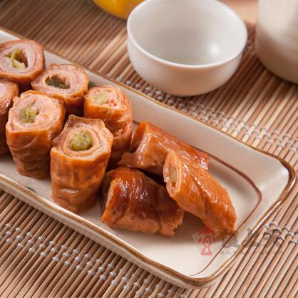 【露營野餐】鑲蔥脆皮肥腸(5條/600g/包)