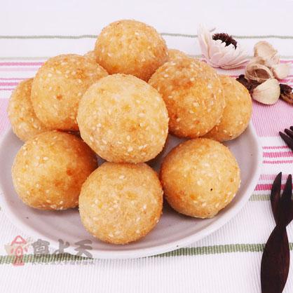 麻糬蛋黃芋丸(350g/盒/蛋奶素)