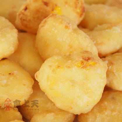 紅龍玉米布丁酥(約33個/1kg/包)