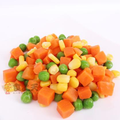 冷凍三色蔬菜(1000g/包)