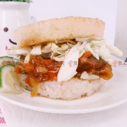 紅龍米漢堡(170gx3顆/包)