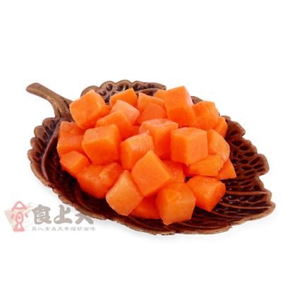 冷凍紅蘿蔔切丁(200g/包)