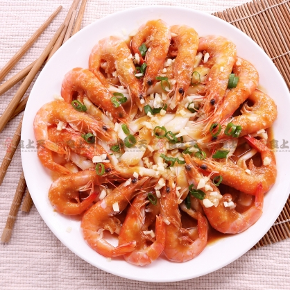 【年菜】干貝河粉佐蒜蝦