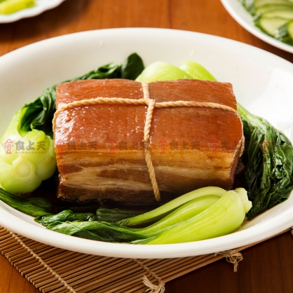 【年菜】紹興梅干東坡肉