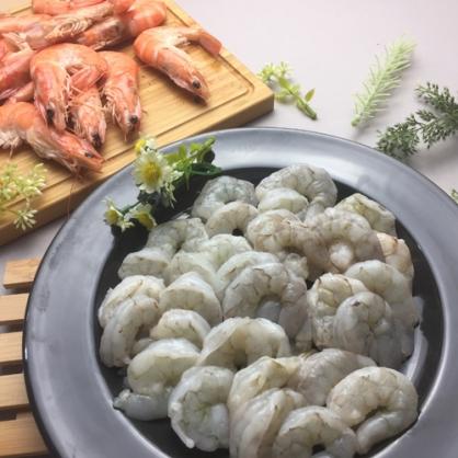 白晶蝦 蝦仁 (大) 250G 約17~20顆/包