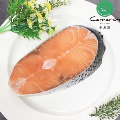 智利極凍厚切鮭魚(小) 300公克/片