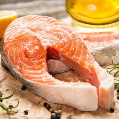 L號鮮嫩厚切鮭魚片