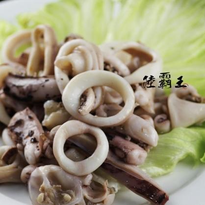 魷魚圈 1kg/包 新鮮Q彈有嚼勁【陸霸王】