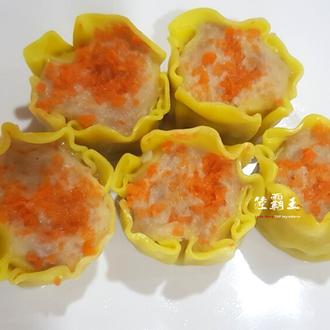 ☆蟹黃燒賣☆蒸的點心 港式飲茶專用燒賣【陸霸王】