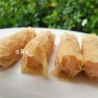 ☆熟蝦捲☆400G±10% 團膳 炸物 點心 酥炸料理【陸霸王】
