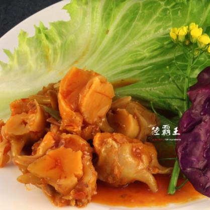 ☆日式蠑螺風味切片☆螺肉 涼拌高級小菜600G±5% 【陸霸王】