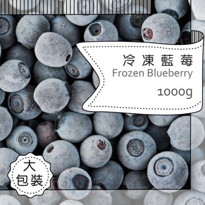 冷凍種栽種藍莓1000g