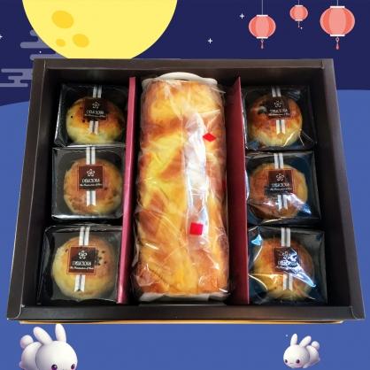中秋蛋糕月餅禮盒
