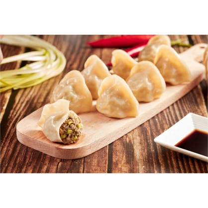 韭黃牛肉水餃