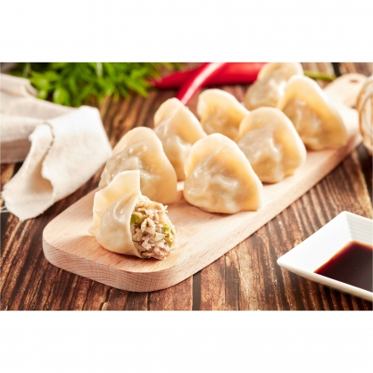 韭黃豬肉水餃