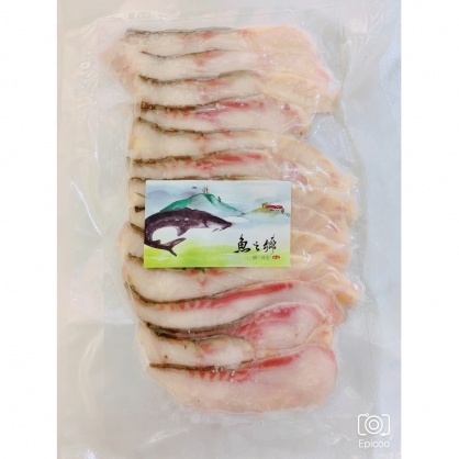 鱘龍魚肉排