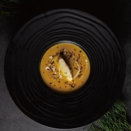 柔滑阿爾卑斯焦糖洋蔥南瓜湯