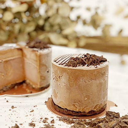 三吋70%比利時巧克力蛋糕