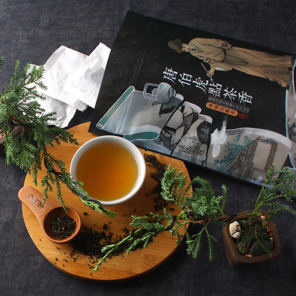 【經典】唐伯虎點茶香-凍頂烏龍茶包-夾鏈立袋20入