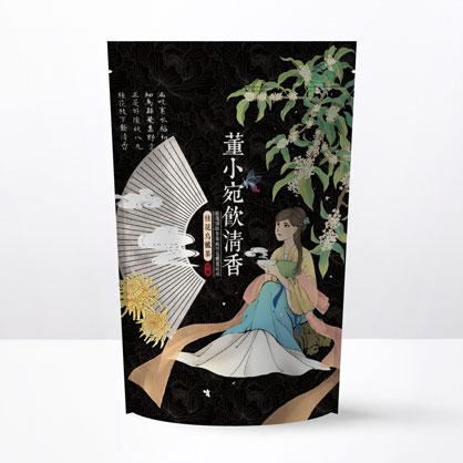 【經典】董小宛飲清香-桂花烏龍茶包-夾鏈立袋20入