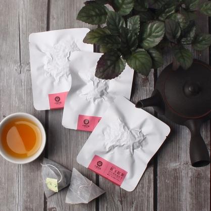 【頂級】三角立體原片茶包-日月潭紅玉紅茶-單包