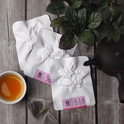 【頂級】三角立體原片茶包-台東鹿野紅烏龍-單包