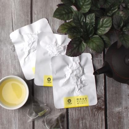 【頂級】三角立體原片茶包-阿里山金萱茶-單包