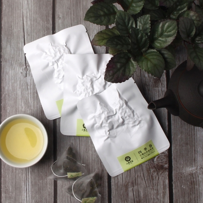 【頂級】三角立體原片茶包-台灣四季春青茶-單包
