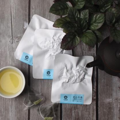 【頂級】三角立體原片茶包-台灣高山青心烏龍茶-單包
