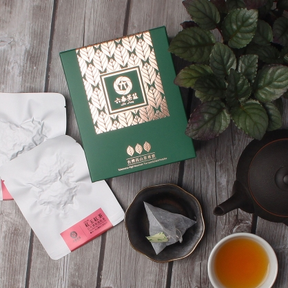 【頂級】三角立體原片茶包-日月潭紅玉紅茶-盒裝8包(16入)