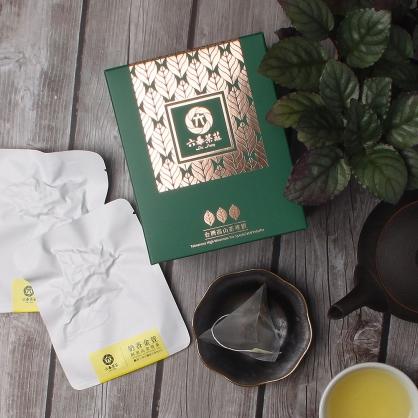 【頂級】三角立體原片茶包-阿里山金萱茶-盒裝8包(16入)