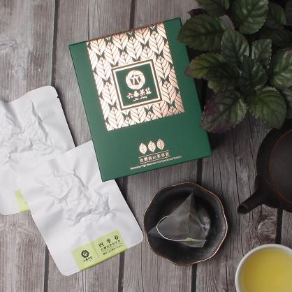 【頂級】三角立體原片茶包-台灣四季春青茶-盒裝8包(16入)