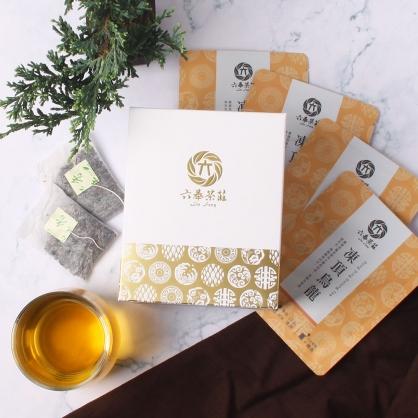 【精裝】嚴選凍頂烏龍茶包-盒裝20包