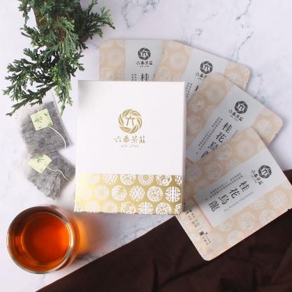 【精裝】嚴選桂花烏龍茶包-盒裝20包