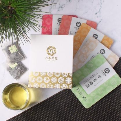 【精裝】嚴選5種口味茶包-盒裝20包