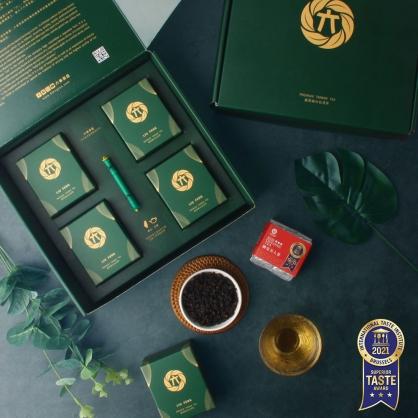 蟬覓美人茶(二兩75g)x4-半斤茶葉禮盒