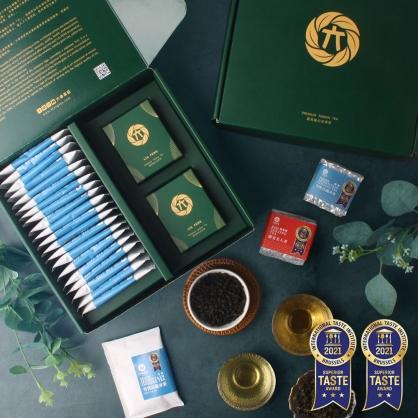 雪窖烏龍青茶包20入+蟬覓美人茶(二兩75g)x1+ 雪窖烏龍青茶(二兩75g)x1-茶包茶葉禮盒
