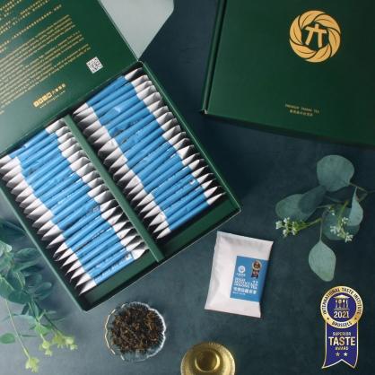 雪窖烏龍原片茶包40入-茶包禮盒