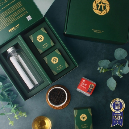 蟬覓美人茶(二兩75g)x2-茶葉禮盒-附PET冷泡瓶