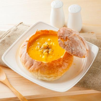 【易鼎活蝦】主廚特製法式麵包盅-南瓜雞肉 6盒
