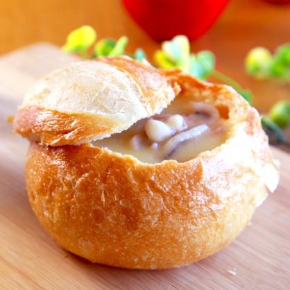 【易鼎活蝦】主廚特製法式麵包盅-玉米海鮮 6盒
