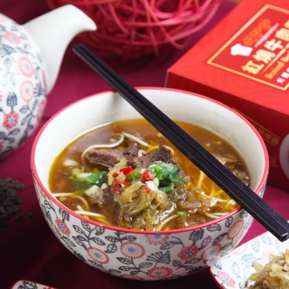 【吃gogo】紅燒牛肉麵 3入